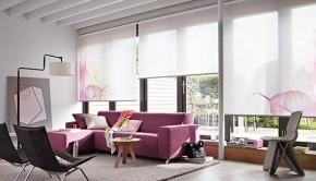 rolety do oken diamond design skvěle ladí s prvky interiéru
